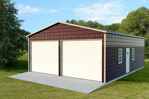22WX31LX9H BOXED EAVE GARAGE