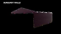 BURGUNDY WALLS