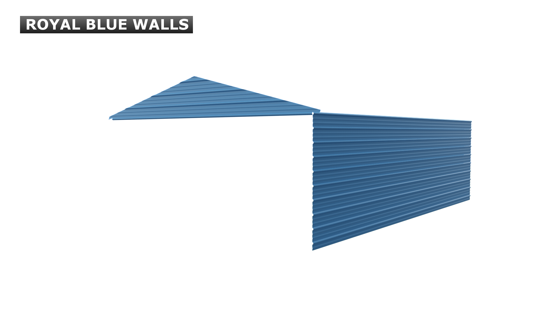 ROYAL BLUE WALLS