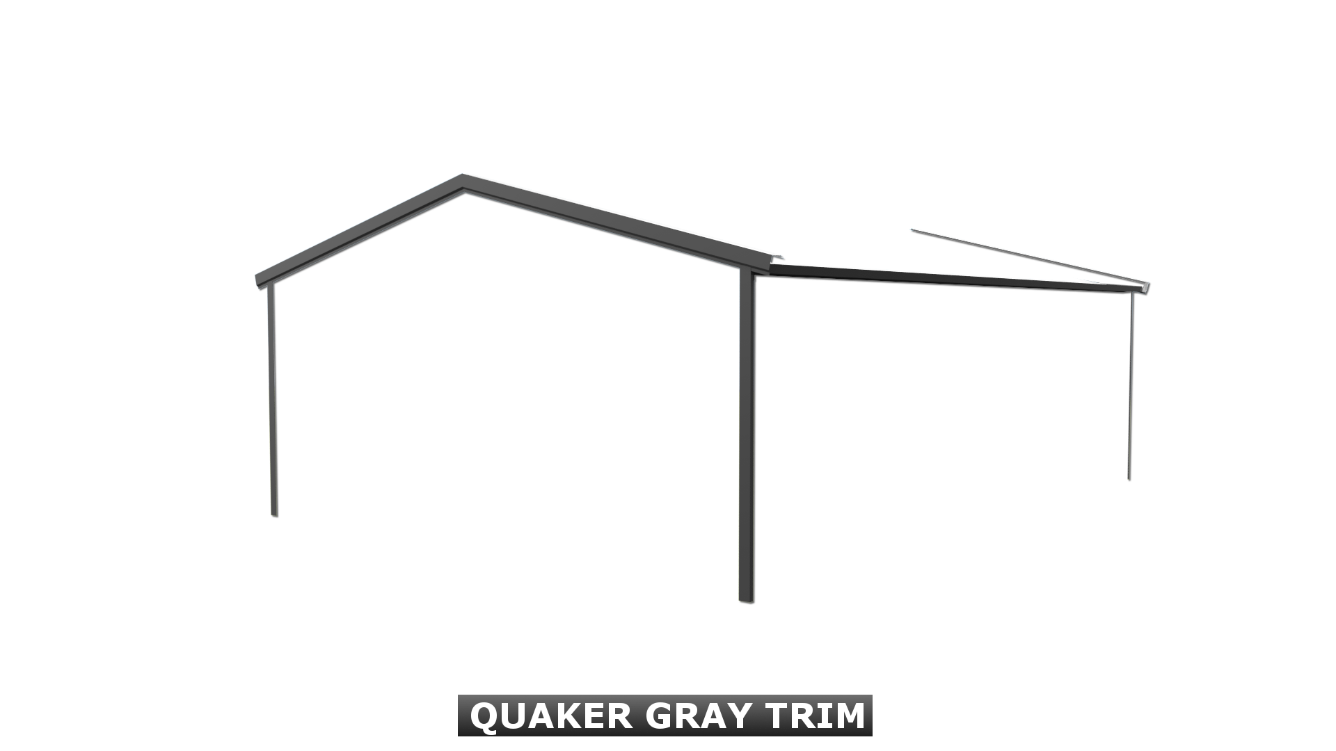 QUAKER GRAY TRIM