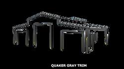 QUAKER GRAY TRIM