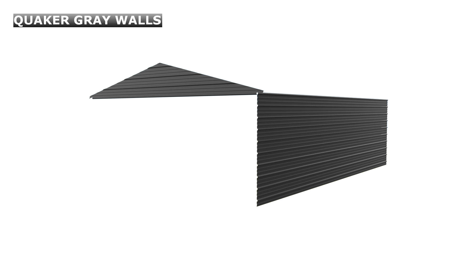 QUAKER GRAY WALLS