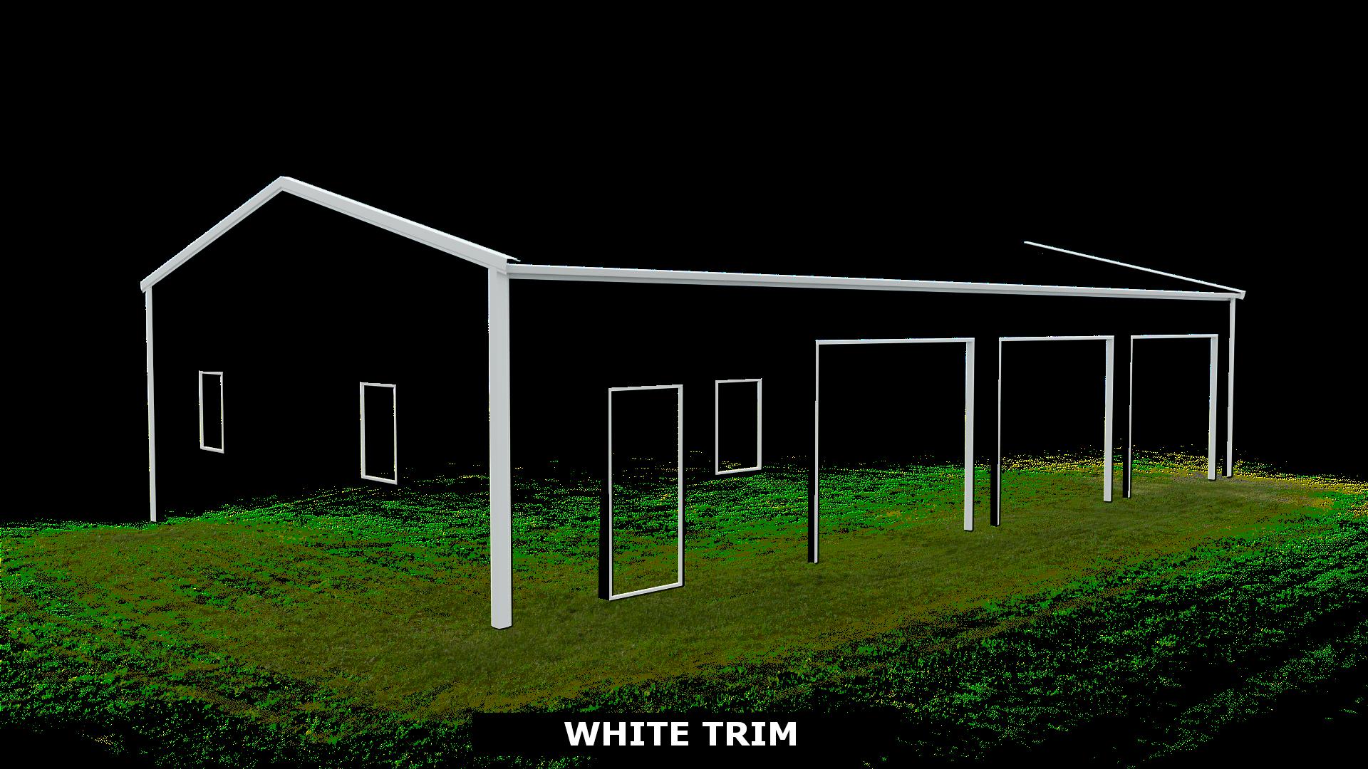 WHITE TRIM