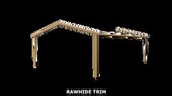 RAWHIDE TRIM