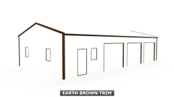EARTH BROWN TRIM