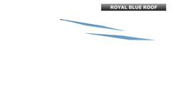 ROYAL BLUE ROOF