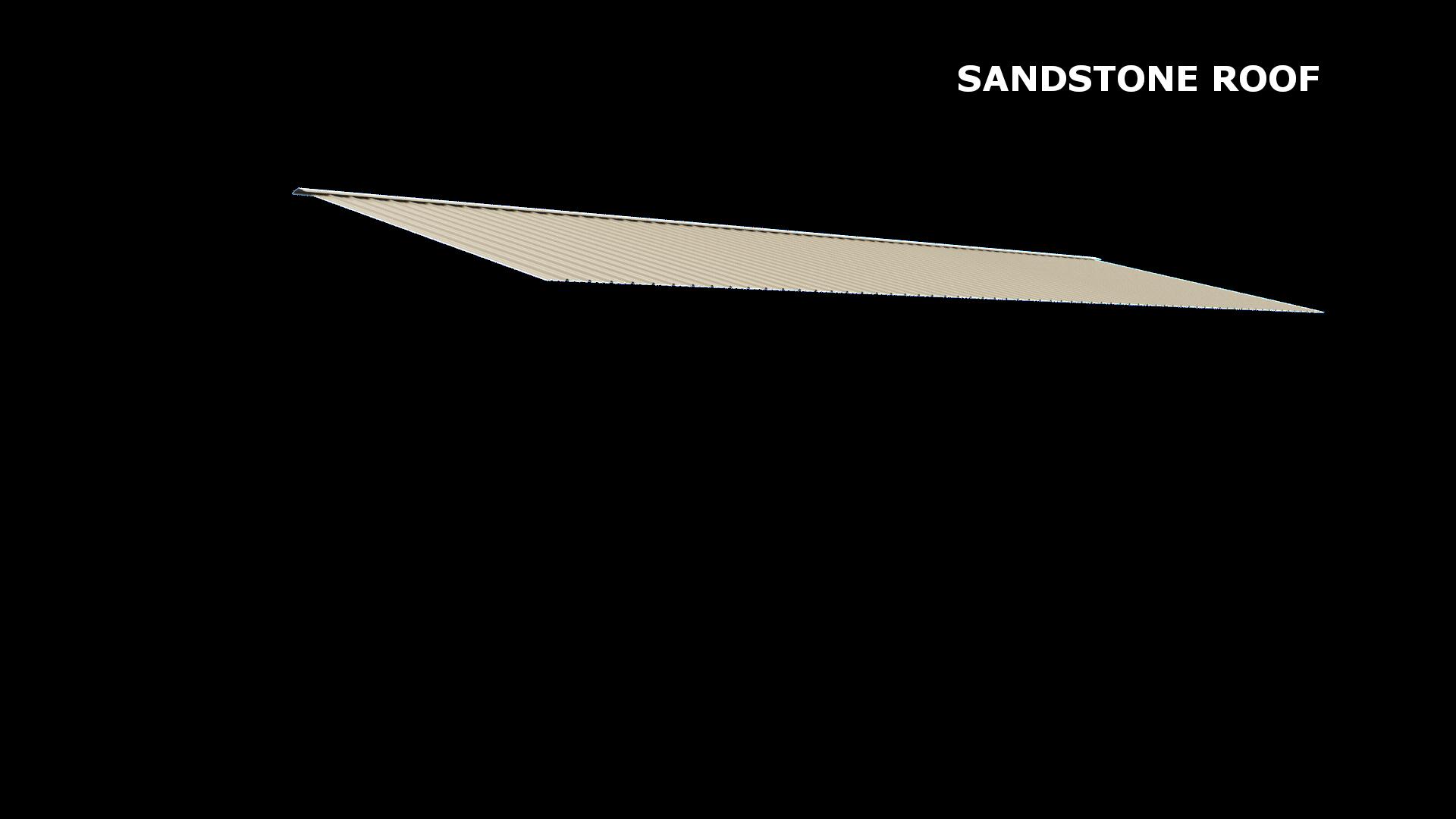 SANDSTONE ROOF