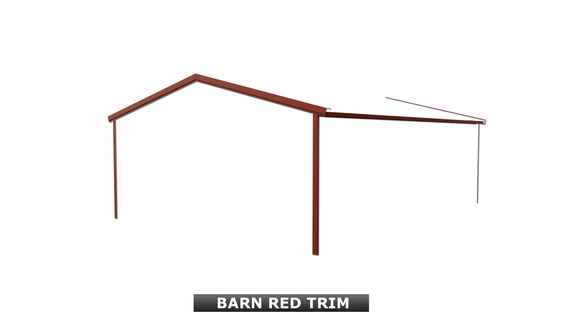 BARN RED TRIM