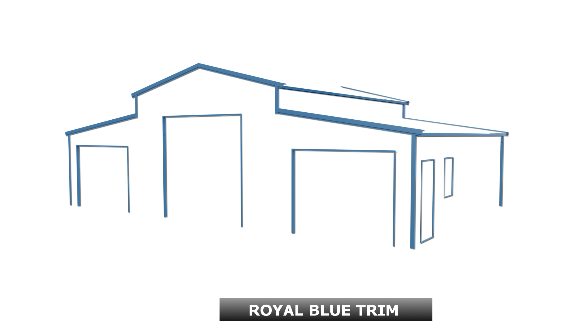 ROYAL BLUE TRIM