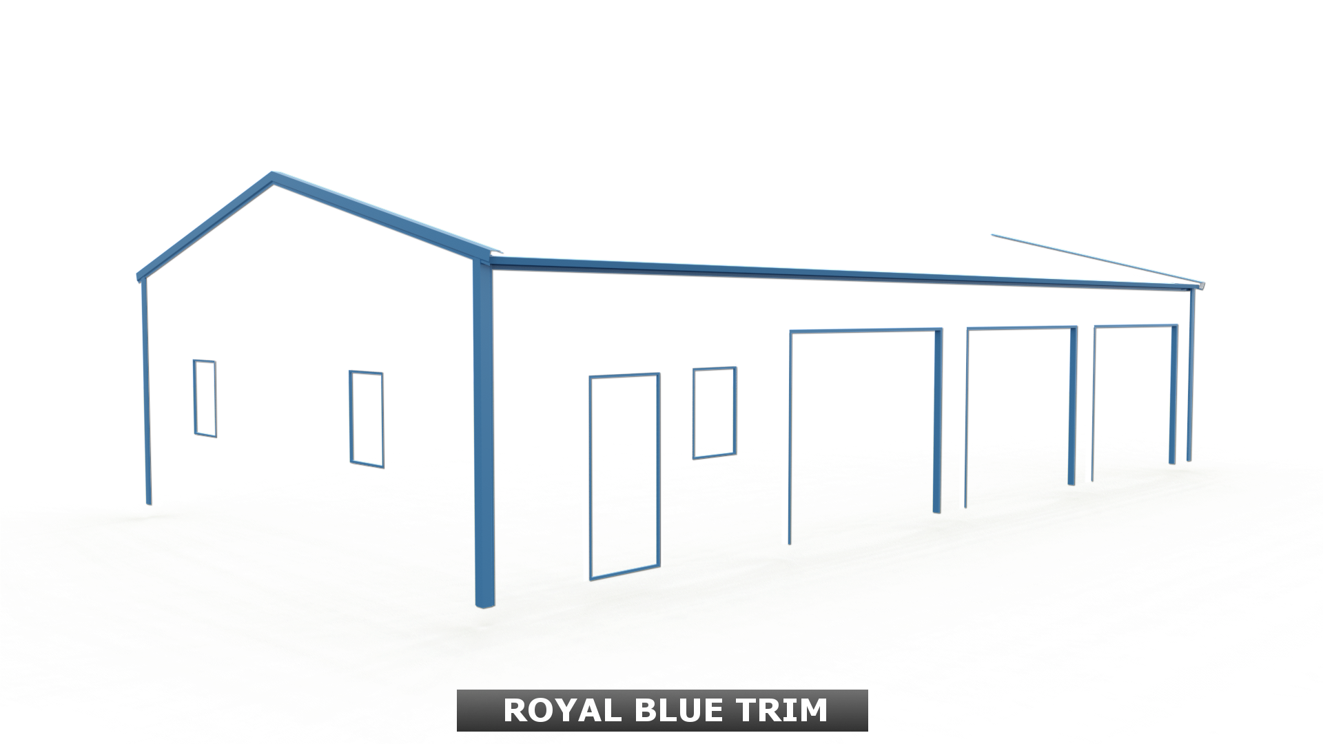 ROYAL BLUE TRIM