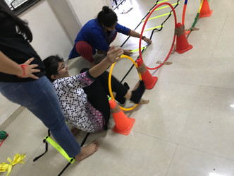 Adapted physical play