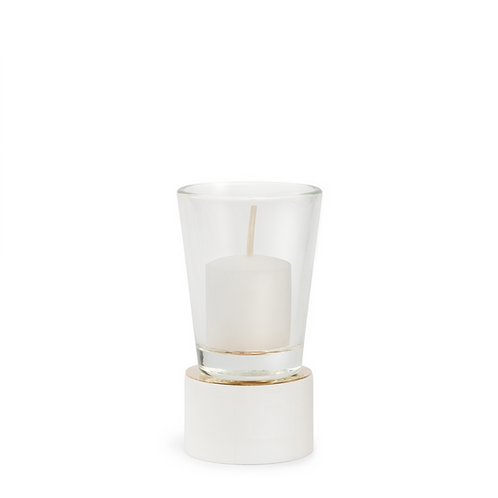 KAN - Small - White - Candle Holder