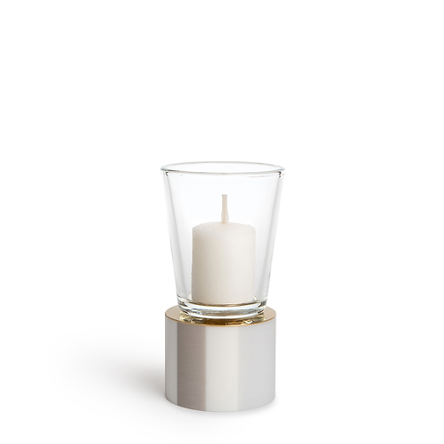 KAN - Small - Stripe Mist - Candle Holder