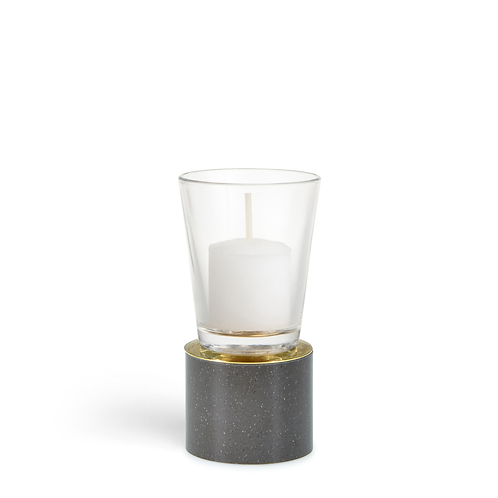 KAN - Small - Deep Gray - Candle Holder