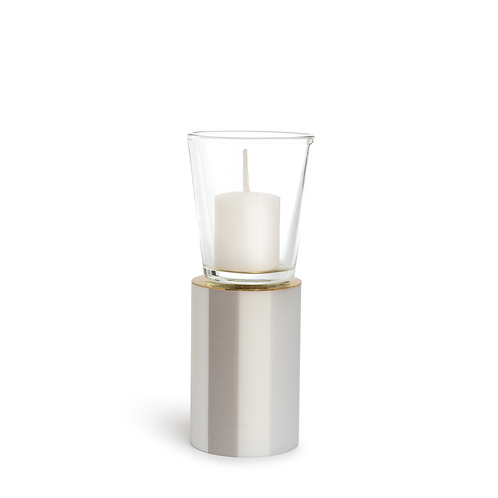 KAN - Medium - Stripe Mist - Candle Holder