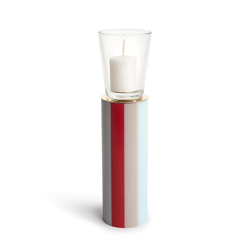 KAN - Large -  Lady In Red - Candle Holder