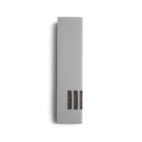 MEZUZAH | Gray Wide | (ש) Side - Copper