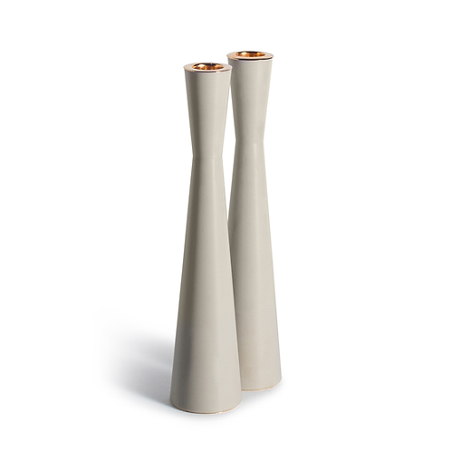 PAMOT - Gray - Corian Candle Holders