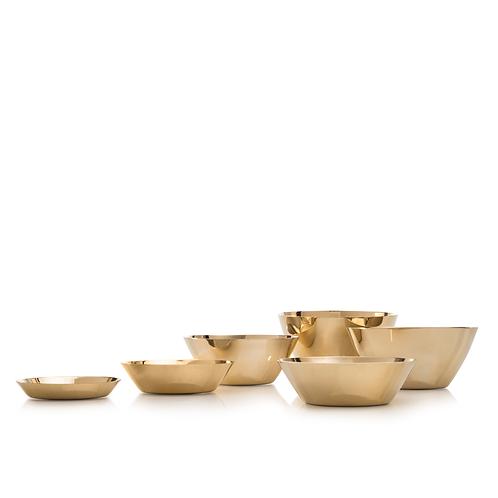KEARA - Six brass bowls