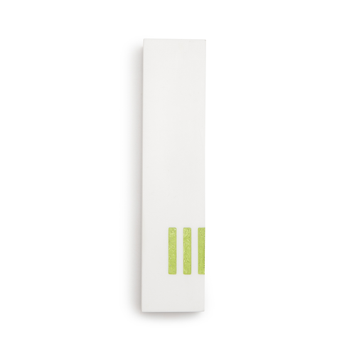 MEZUZAH | White Wide | (ש) Side- Green