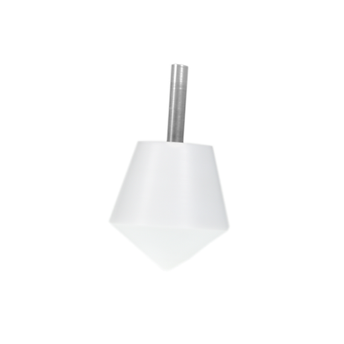 SEVIVON - White - Stainless Steel- Dreidel - Model 2017