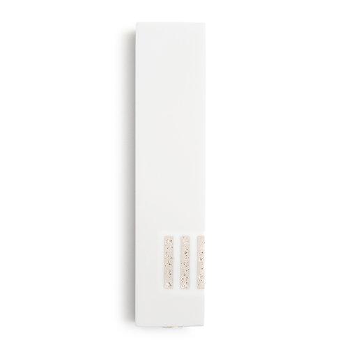 MEZUZAH | White Wide | (ש) Side - White