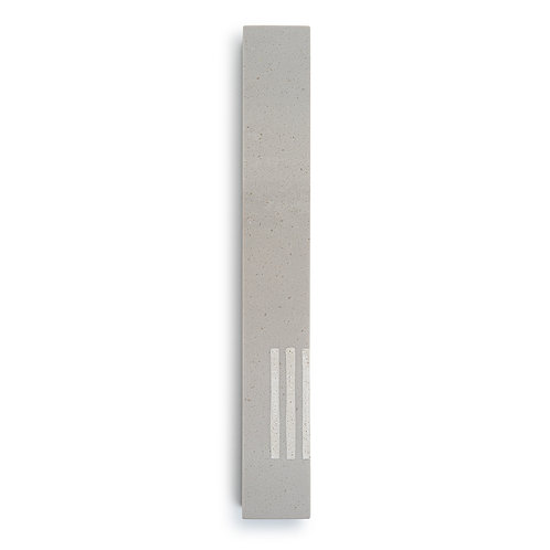 MEZUZAH | Large | Urban Gray | (ש) Side -White