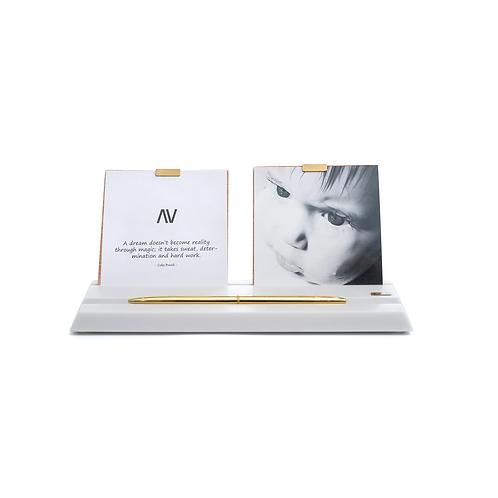 MAAMAD – Vanilla - Photo and Pen Holder