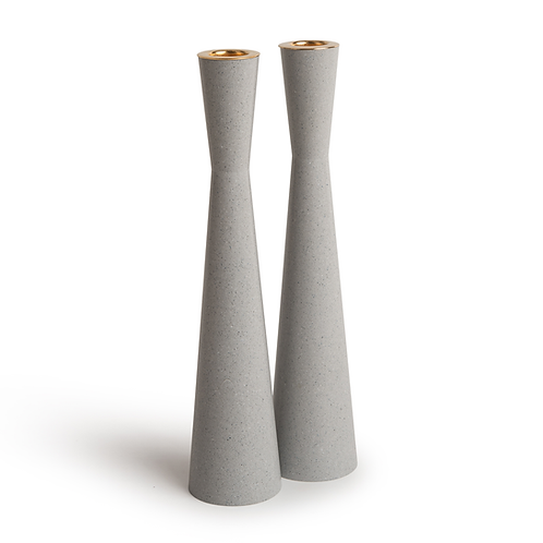 PAMOT - Dove- Corian Candle Holders