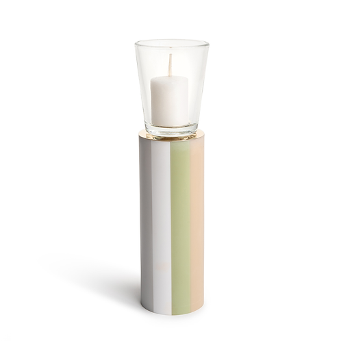 KAN - Large -  Mint Coffe - Candle Holder