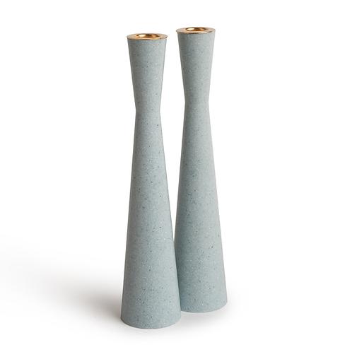PAMOT - Aqua - Corian Candle Holders