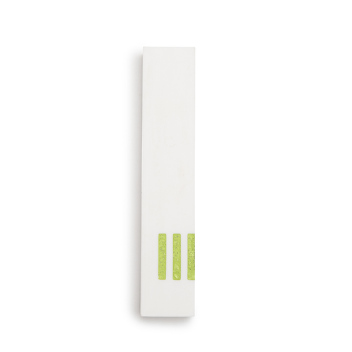 MEZUZAH | White Narrow | (ש) Side - Green