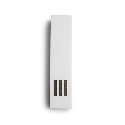 MEZUZAH | White Wide | (ש) Middle - Copper