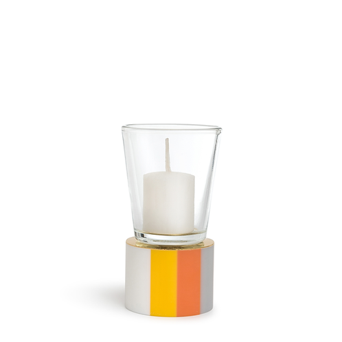 KAN - Small - Orange & Lemon - Candle Holder