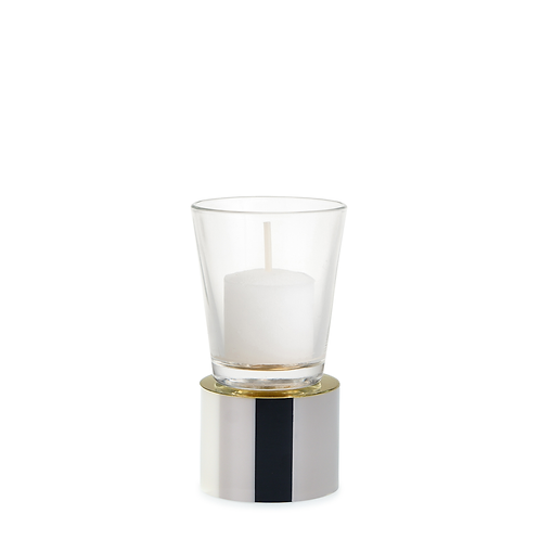 KAN - Small - Black Mix - Candle Holder