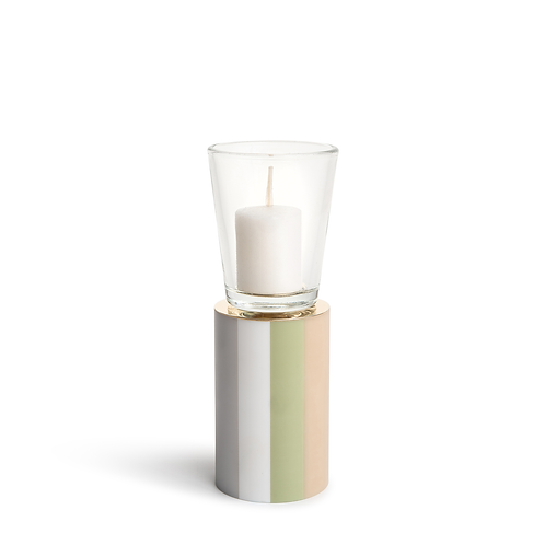 KAN - Medium - Mint Coffe - Candle Holder