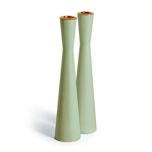 PAMOT - Green - Corian Candle Holders
