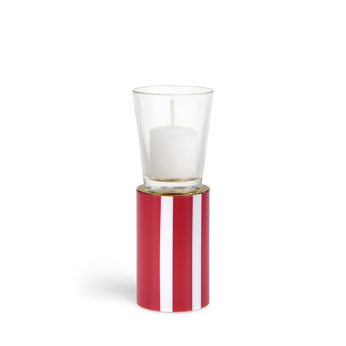 KAN - Medium - Red - Circus - Candle Holder