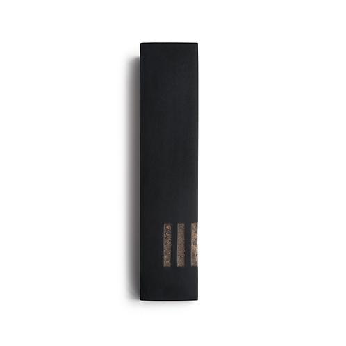 MEZUZAH | Black Wide | (ש) Side - Copper