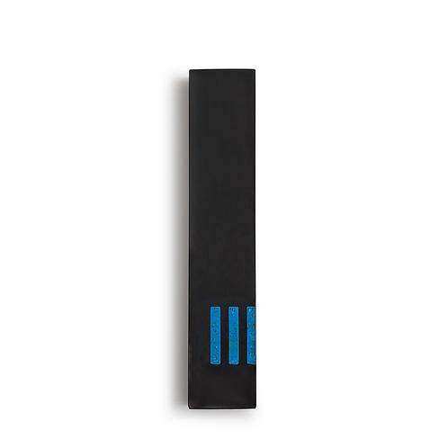 MEZUZAH | noir - fin | (ש) côté - bleu