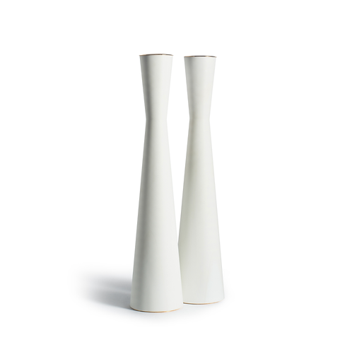 PAMOT - White - Corian Candle Holders