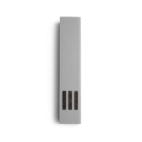MEZUZAH | Gray Narrow | (ש) Middle - Copper