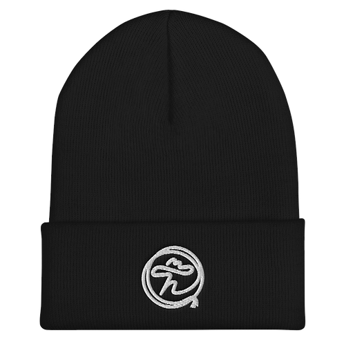 Embroidered Top Hand Beanie