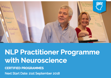 ITS NLP Practitioner Programme with Neuroscience, 21st Sept 2018