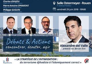 Conférence et débat à Rouen 29 juin (Les Républicains)