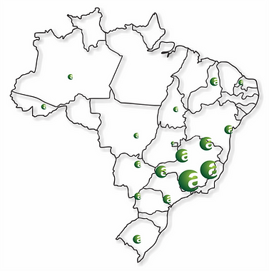 Atuação Agrogenius no Brasil