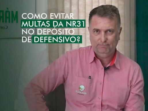 Como Evitar Multas da NR31 no Depósito de Defensivo?