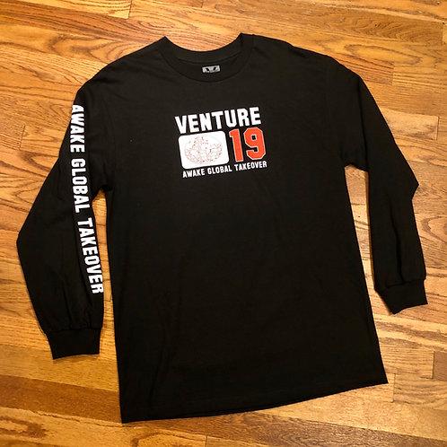 Venture - Global Takeover L/S - Black