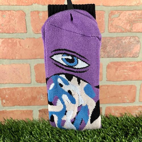 Toy Machine - Barfer Purple Sock