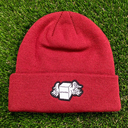 FA Box Wing Beanie - Red